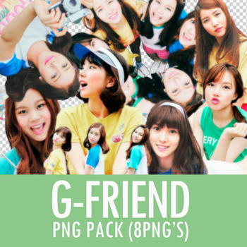 G-Friend PNG Pack by Kwon21