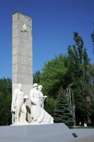 WWII Soviet memorial stock by croicroga