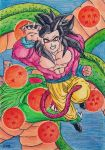 Goku ssj4 by norejoicing