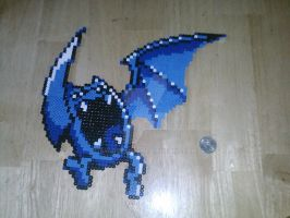 Perler Golbat Ironed by dylrocks95