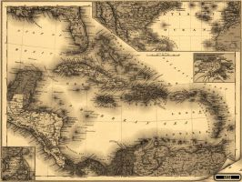 Caribbean Area1898 by klen70