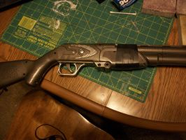 Fallout Coach Gun by Frost-Claw-Studios