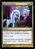 MLP_FiM_MTG - Fall from Glory by pegasusBrohoof