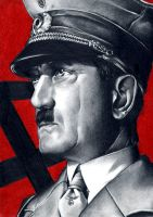 Hitler by neonay