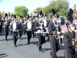 Percussion Section Marching by natchat0
