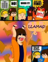 The Llama Craze of 2010 by Onslaught14