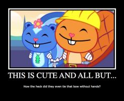 Happy Tree Friends Demotivational Poster by neo-chan7