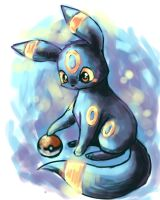 umbreon sketch by michellescribbles