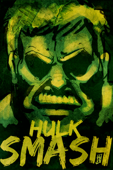 30DDDC Day 8/2 Hulk SMASH by psychosako