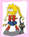 Sailor Moon: Lisa Simpson by sailormuffin