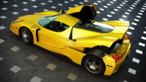 yellow Enzo by view