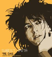 Robert Smith, The Cure in WPAP by toniagustian