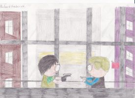 Standoff (South Park + Resident Evil 6) by xg-armagged0n