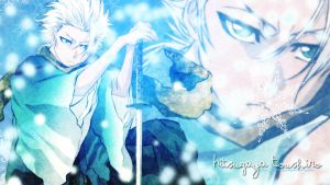 Hitsugaya wall 2 by naruble
