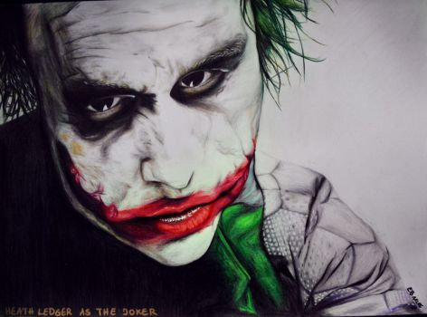 The Joker by MaddyInVisibLe