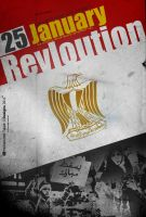 Egypt - 25 January Revloution by midomakled22