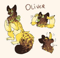 cache dragon MYO - Oliver by red-anteater