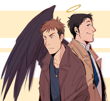 spn jeanmarco crossover by Sydsir