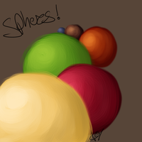SPHERES by ChapperIce