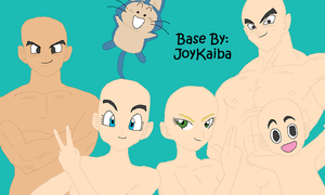 Base: DBZ Group 1 by JoyKaiba