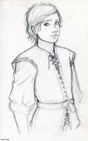 Kvothe__sketch_new year by MartAiConan