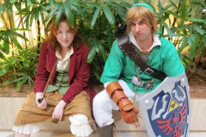 Bilbo and Link by scoldingspirit84