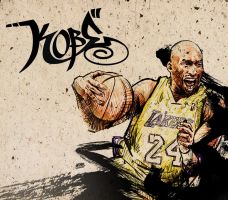 KOBE - PLAYOFFS by kwangki