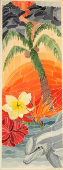 Hawaii Watercolor Montage by DC-Art-Therapist