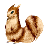 #162 Furret by aether-arc