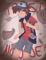 Dipper Pines by Drawing-Heart