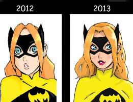 Batgirl progress by ActionKiddy