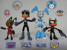 MY Nicktoons heros toys by mayozilla