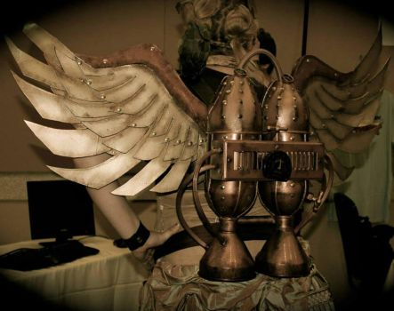 Steampunk Winged Jetpack by Winged-warrior