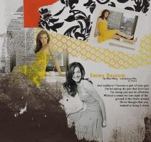 Emmy Rossum collage by demolitionn