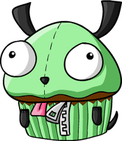 Gir cupcake by Hidden-Rainbows
