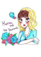 marina and the diamonds by NENEBUBBLEELOVER