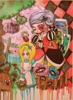 Alice in Wonderland by daddy-likes-men11