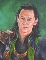Loki by ObsidianSerpent