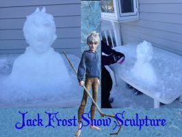 Jack Frost Snow Sculpture by GDSCorinne