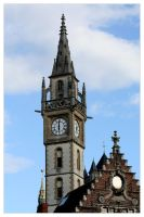 Ghent Clock by Cre8ivMynd