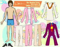 PAUL MCCARTNEY PAPER DOLL 3 by 89000007ANL