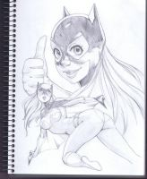 A Girl Who Likes Bats by Robaato