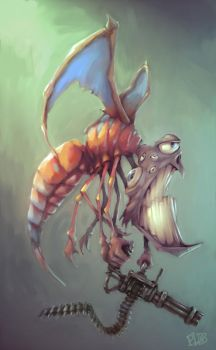 creature by Doctor-Frog