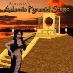 MMD Atlantis Pyramid Stage + Motion D/L by Trackdancer