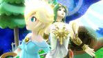 Palutena and Rosalina by Sunnyme60