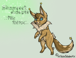 Eevee-woman: Starlight by Shamrock-Adopts-Pets