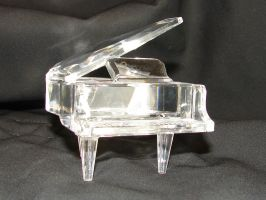 Crystal Grand Piano 2 by FantasyStock