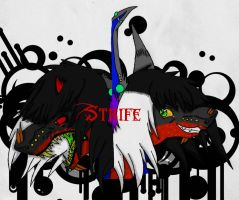 Strife. by DarkMoon7092