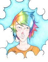 Head in the Clouds by MrFancyDreams