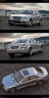 mercedes S 65 AMG by JohnZi